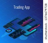 advertisement of trading app...