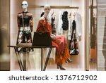 paris  france   march 03  2019  ... | Shutterstock . vector #1376712902