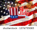 united states of america usa... | Shutterstock .eps vector #1376755085