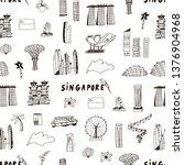 Singapore Line Design With Cit...