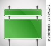 Blank Green Metal Boards....