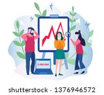 management failed to achieve... | Shutterstock .eps vector #1376946572