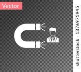 white customer attracting icon... | Shutterstock .eps vector #1376975945