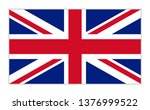 united kingdom flag background... | Shutterstock .eps vector #1376999522