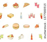 food images. background for... | Shutterstock .eps vector #1377000515