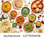 Indian Cuisine Dishes  Tikka...