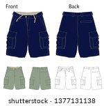 vector illustration of half... | Shutterstock .eps vector #1377131138