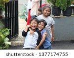 jakarta   january 12  2019. the ... | Shutterstock . vector #1377174755