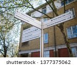 london  uk   21 apr 2019 ... | Shutterstock . vector #1377375062