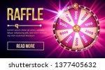 internet raffle roulette... | Shutterstock .eps vector #1377405632