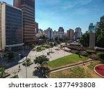sao paulo  brazil   circa april ... | Shutterstock . vector #1377493808
