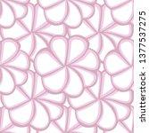 vector seamless pattern of big...   Shutterstock .eps vector #1377537275