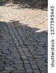 cobble stone street   Shutterstock . vector #1377595445