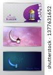 ramadan kareem greeting islamic ...   Shutterstock .eps vector #1377631652