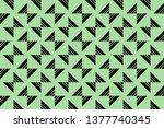 color design geometric pattern. ...   Shutterstock .eps vector #1377740345