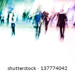 city business people abstract... | Shutterstock . vector #137774042