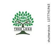 tree logo design inspiration | Shutterstock .eps vector #1377741965