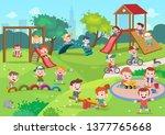 Kids Children Playing...