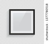 square black picture or photo... | Shutterstock .eps vector #1377780518