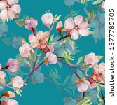 Pink Spring Branch.seamless...