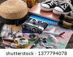 items and accessories for the... | Shutterstock . vector #1377794078