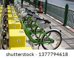 Green Bicycles In The Yellow...
