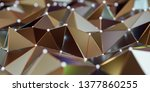 view of a abstract connection... | Shutterstock . vector #1377860255