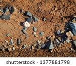 brown soil background. ground... | Shutterstock . vector #1377881798