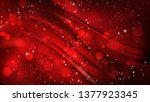 abstract cool red defocused...   Shutterstock .eps vector #1377923345