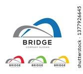 Modern Abstract Bridge Logo...