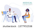 medicine concept with black... | Shutterstock .eps vector #1377952538
