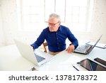 high angle portrait shot of...   Shutterstock . vector #1378178372