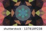 geometric design  mosaic of a... | Shutterstock .eps vector #1378189238