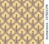 seamless vector tiny flower...   Shutterstock .eps vector #137822198