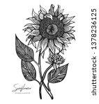 engraved illustration of... | Shutterstock .eps vector #1378236125