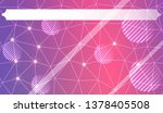abstract mosaic background with ... | Shutterstock .eps vector #1378405508
