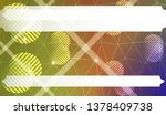 decorative background with... | Shutterstock .eps vector #1378409738