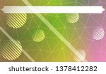 decorative background with... | Shutterstock .eps vector #1378412282