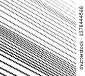 dotted diagonal lines. black ... | Shutterstock .eps vector #1378444568
