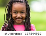 outdoor close up portrait of a... | Shutterstock . vector #137844992