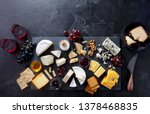 Cheese Assortment On Slate...