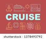cruise word concepts banner....