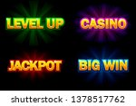 shining text casino  jackpot ...