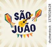brazilian traditional... | Shutterstock .eps vector #1378528628