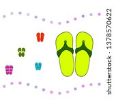 vector set with cute and... | Shutterstock .eps vector #1378570622