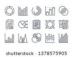 chart and graph related line... | Shutterstock .eps vector #1378575905