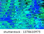 beautiful abstract painting is... | Shutterstock . vector #1378610975
