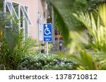 parking space reserved for...   Shutterstock . vector #1378710812