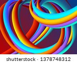 modern colorful background for... | Shutterstock .eps vector #1378748312