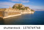 old fortress guards the... | Shutterstock . vector #1378769768